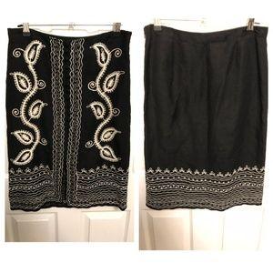 BCBG Max Azria Midi Skirt - Size 4